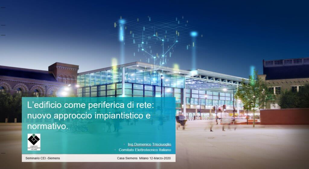 SMART BUILDING & SMART GRID a Milano
